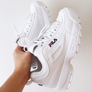 Fila disruptor II white sneakers